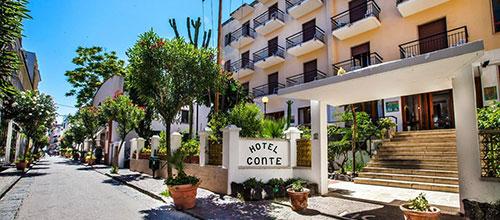 Hotel conte ischia porto for Boutique hotel ischia